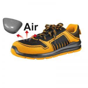 Zapato de seguridad punta de acero
