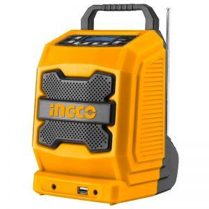 Radio de trabajo de iones de litio 20v