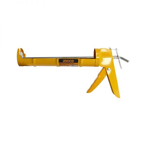 Pistola para silicón metal 9 INGCO